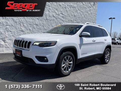 2020 Jeep Cherokee for sale at SEEGER TOYOTA OF ST ROBERT in St Robert MO