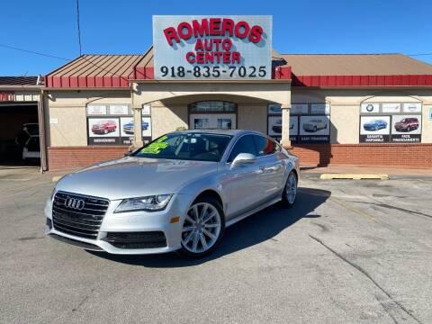 2012 Audi A7 for sale at Romeros Auto Center in Tulsa OK