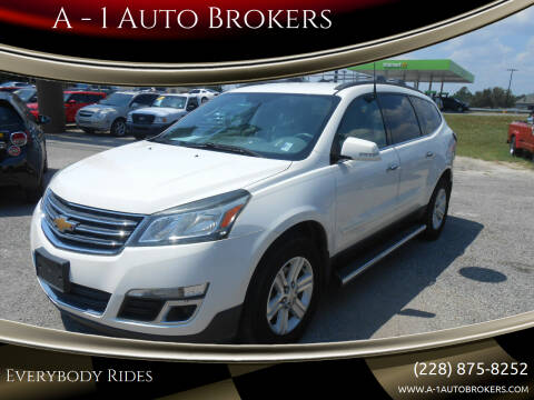 2013 Chevrolet Traverse for sale at A - 1 Auto Brokers in Ocean Springs MS