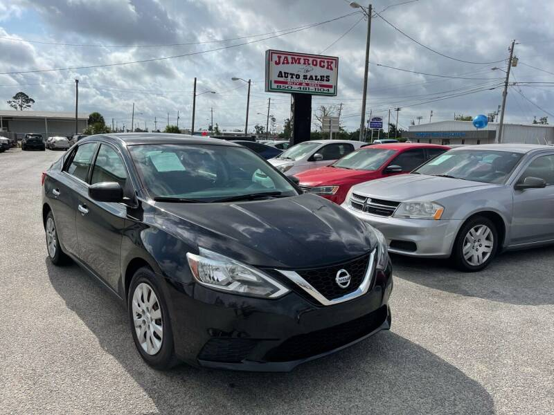 2017 Nissan Sentra for sale at Jamrock Auto Sales of Panama City in Panama City FL