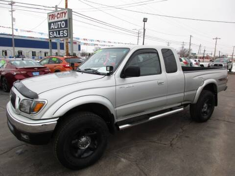 2001 Toyota Tacoma for sale at TRI CITY AUTO SALES LLC in Menasha WI