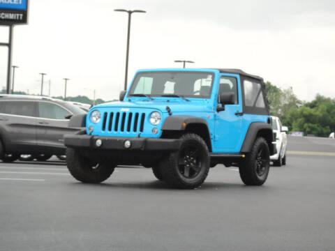 2018 Jeep Wrangler JK for sale at Jack Schmitt Chevrolet Wood River in Wood River IL