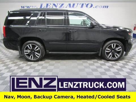 2018 Chevrolet Tahoe for sale at LENZ TRUCK CENTER in Fond Du Lac WI