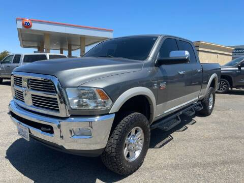 2011 RAM Ram Pickup 2500 for sale at Deruelle's Auto Sales in Shingle Springs CA