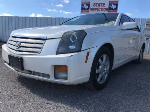 2007 Cadillac CTS for sale at Texas Country Auto Sales LLC in Austin TX