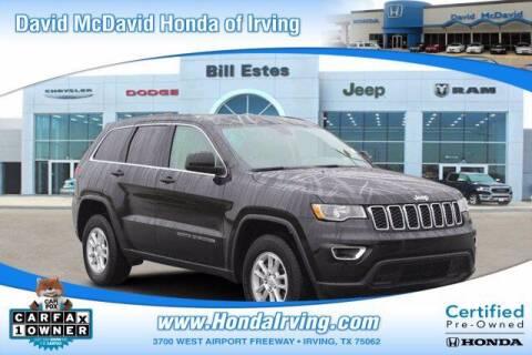 2020 Jeep Grand Cherokee for sale at DAVID McDAVID HONDA OF IRVING in Irving TX