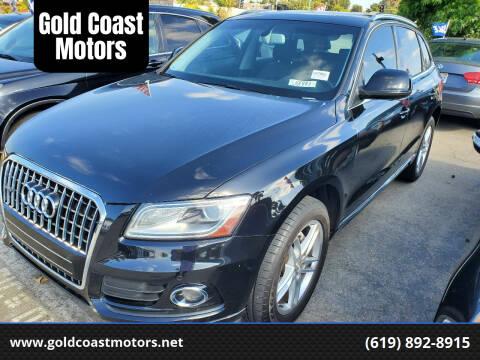 2014 Audi Q5 for sale at Gold Coast Motors in Lemon Grove CA