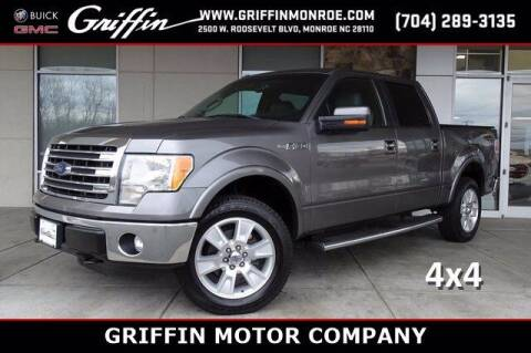 2013 Ford F-150 for sale at Griffin Buick GMC in Monroe NC