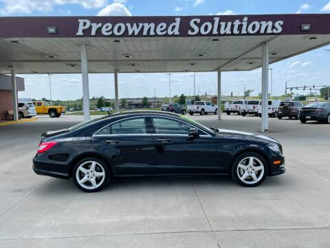 2014 Mercedes-Benz CLS for sale at Preowned Solutions in Urbandale IA