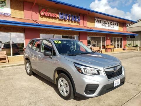2019 Subaru Forester for sale at Ohana Motors in Lihue HI