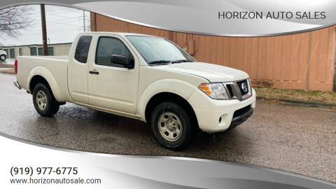 2016 Nissan Frontier for sale at Horizon Auto Sales in Raleigh NC