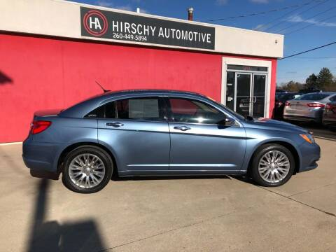 2011 Chrysler 200 for sale at Hirschy Automotive in Fort Wayne IN