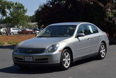 2004 Infiniti G35 for sale at Skyline Motors Auto Sales in Tacoma WA