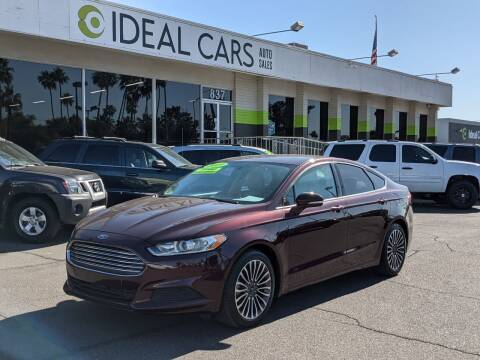 2013 Ford Fusion for sale at Ideal Cars Broadway in Mesa AZ