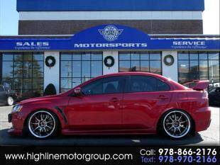 2015 Mitsubishi Lancer Evolution for sale at Highline Group Motorsports in Lowell MA