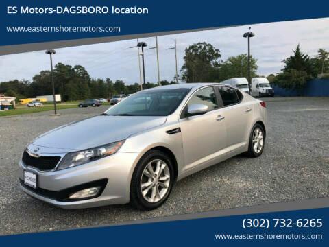 2013 Kia Optima for sale at ES Motors-DAGSBORO location in Dagsboro DE
