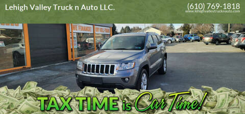 2013 Jeep Grand Cherokee for sale at Lehigh Valley Truck n Auto LLC. in Schnecksville PA