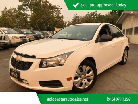 2014 Chevrolet Cruze for sale at Golden Star Auto Sales in Sacramento CA