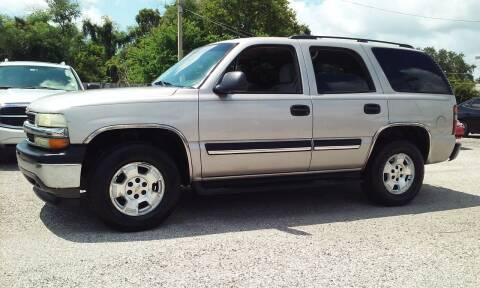 2005 Chevrolet Tahoe for sale at Pinellas Auto Brokers in Saint Petersburg FL