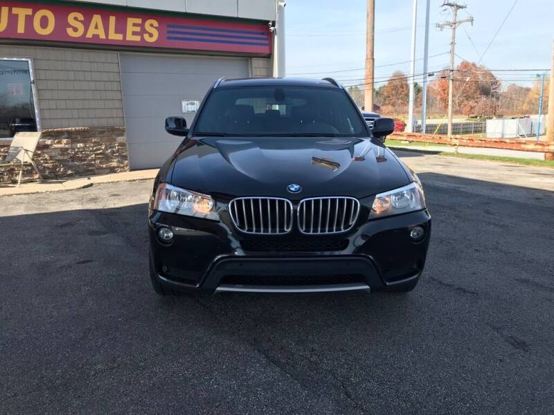 2012 BMW X3 for sale at Best Motor Auto Sales in Geneva OH