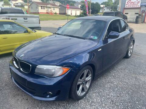 2012 BMW 1 Series for sale at Trocci's Auto Sales in West Pittsburg PA