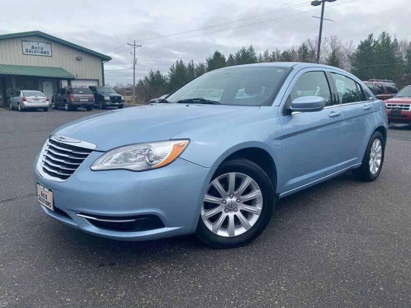 2012 Chrysler 200 for sale at Lakes Area Auto Solutions in Baxter MN