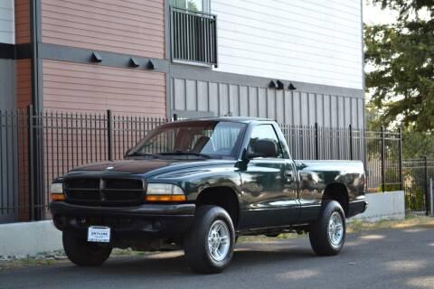 2000 Dodge Dakota for sale at Skyline Motors Auto Sales in Tacoma WA