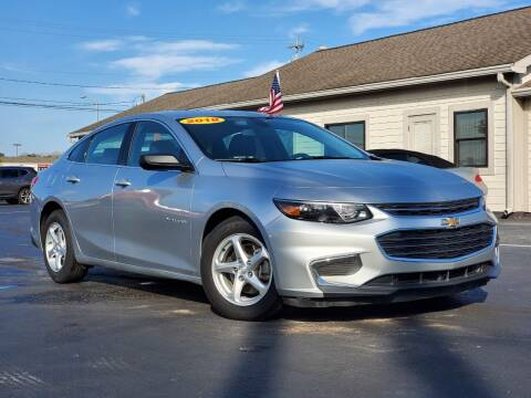 2018 Chevrolet Malibu for sale at Tri-County Pre-Owned Superstore in Reynoldsburg OH