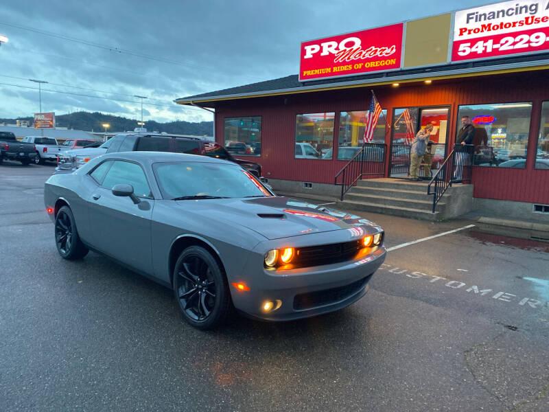 2018 Dodge Challenger for sale at Pro Motors in Roseburg OR