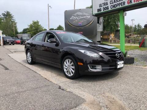 2011 Mazda MAZDA6 for sale at Giguere Auto Wholesalers in Tilton NH