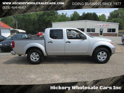 2007 Nissan Frontier for sale at Hickory Wholesale Cars Inc in Newton NC