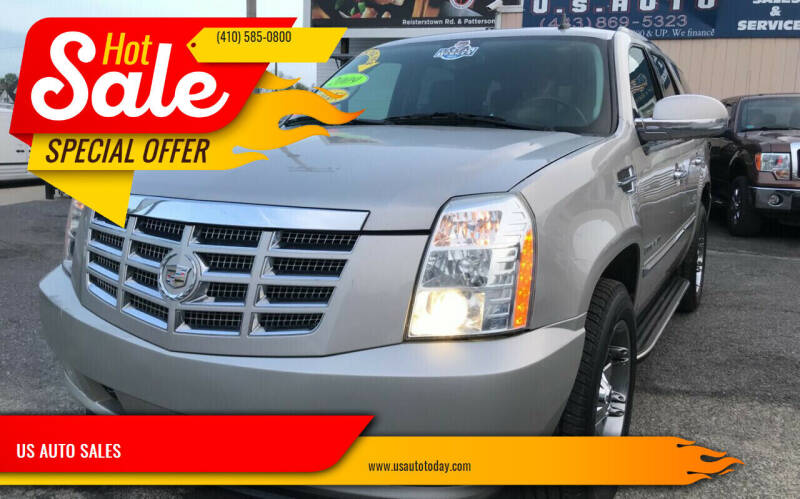 2009 Cadillac Escalade for sale at US AUTO SALES in Baltimore MD
