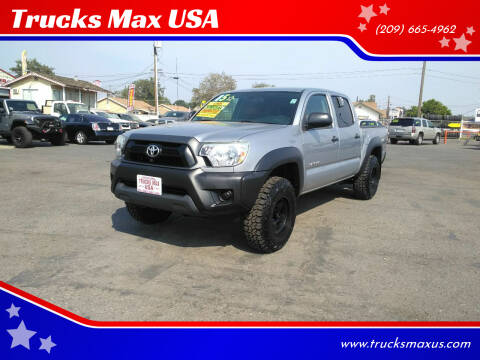 2015 Toyota Tacoma for sale at Trucks Max USA in Manteca CA