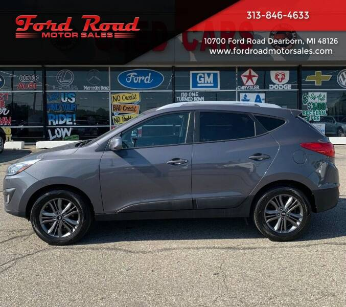 2015 Hyundai Tucson for sale at Ford Road Motor Sales in Dearborn MI