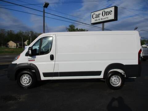 2017 RAM ProMaster Cargo for sale at Car One in Murfreesboro TN
