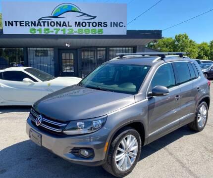 2013 Volkswagen Tiguan for sale at International Motors Inc. in Nashville TN