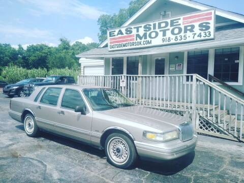 1995 Lincoln Town Car for sale at EASTSIDE MOTORS in Tulsa OK