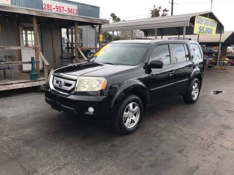 2009 Honda Pilot for sale at Texas 1 Auto Finance in Kemah TX