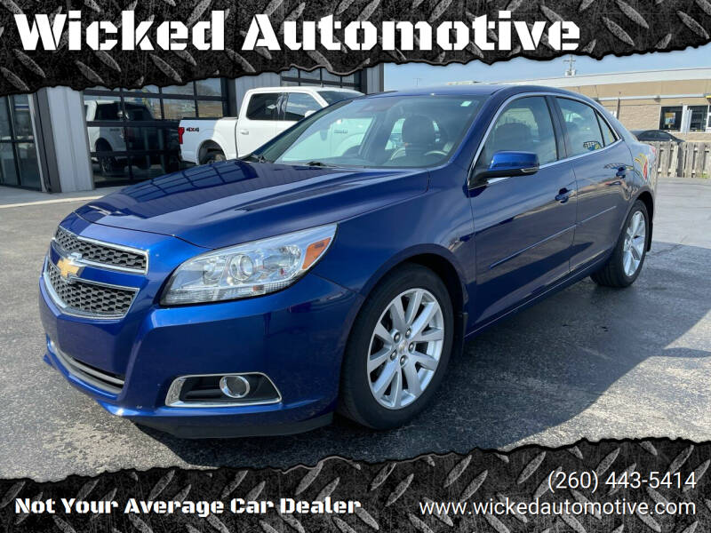 2013 Chevrolet Malibu for sale at Wicked Automotive in Fort Wayne IN