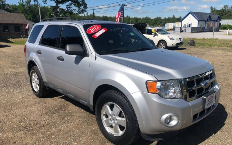 2012 Ford Escape for sale at Winner's Circle Auto Sales in Tilton NH