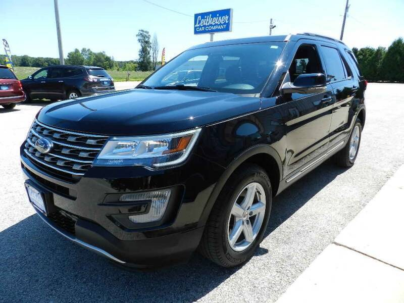 2017 Ford Explorer for sale at Leitheiser Car Company in West Bend WI