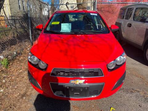 2016 Chevrolet Sonic for sale at Polonia Auto Sales and Service in Hyde Park MA