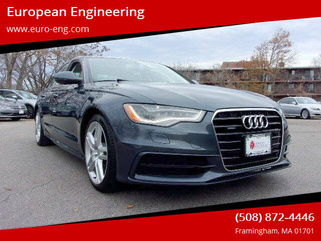 2015 Audi A6 for sale at European Engineering in Framingham MA