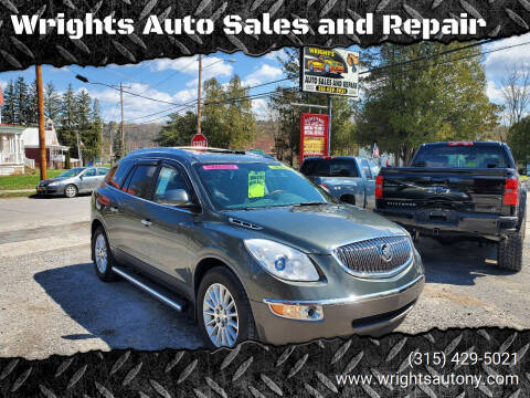 2011 Buick Enclave for sale at Wrights Auto Sales and Repair in Dolgeville NY