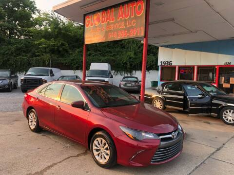 2015 Toyota Camry for sale at Global Auto Sales and Service in Nashville TN
