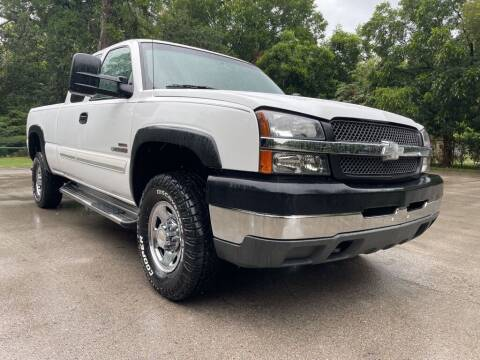 2003 Chevrolet Silverado 2500HD for sale at Thornhill Motor Company in Lake Worth TX