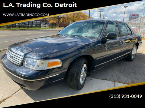 2001 Ford Crown Victoria for sale at L.A. Trading Co. Woodhaven - L.A. Trading Co. Detroit in Detroit MI