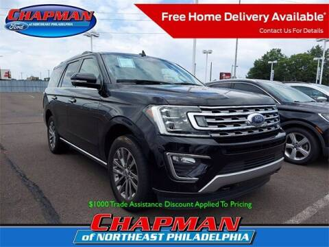 2018 Ford Expedition for sale at CHAPMAN FORD NORTHEAST PHILADELPHIA in Philadelphia PA