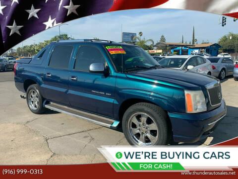 2005 Cadillac Escalade EXT for sale at Thunder Auto Sales in Sacramento CA