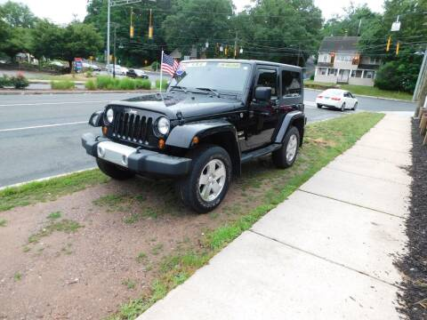 2009 Jeep Wrangler for sale at CAR CORNER RETAIL SALES in Manchester CT